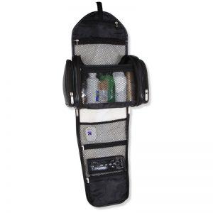 Gentleman's Superior Leather Toiletry Bag