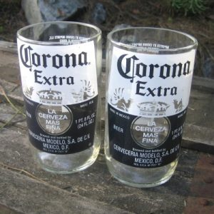 Recycled Corona Bottles