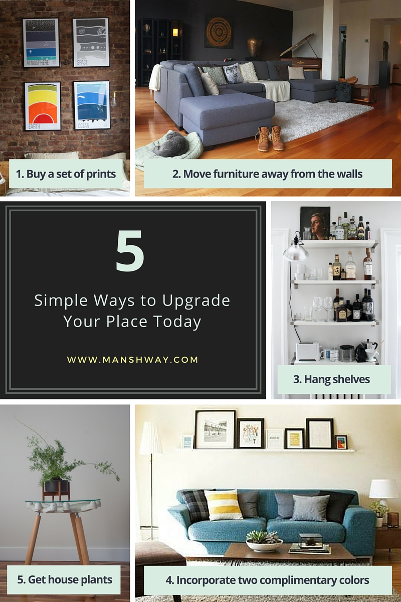 5 Upgrades for Your Space