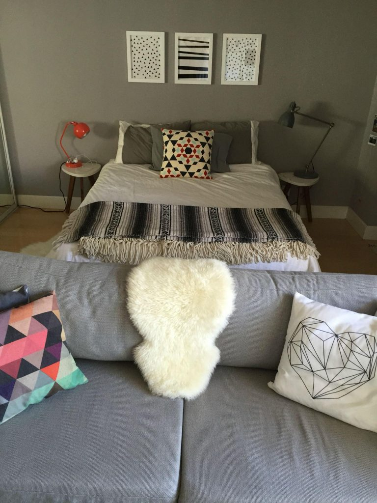 Bed area 1