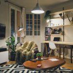 Natural, Rustic Paris Apartment