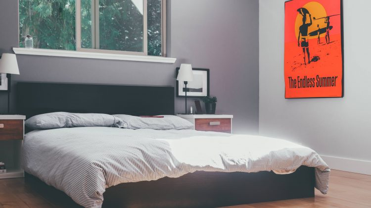 Intentional Male Bedroom