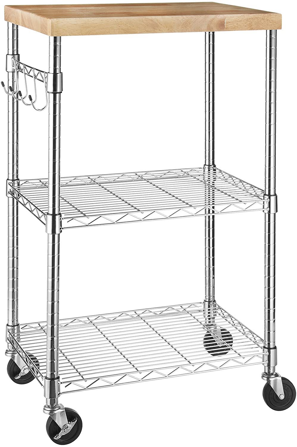 AmazonBasics Kitchen Roling Cart