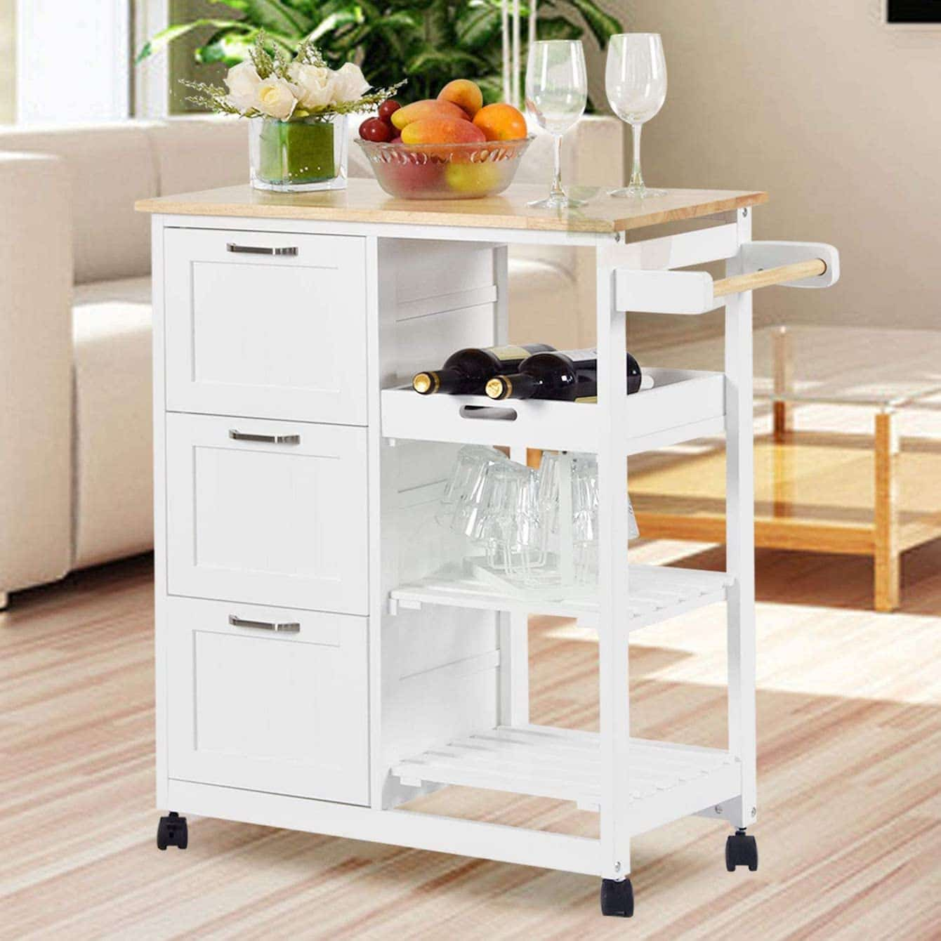 NSdirect Kitchen Island Cart