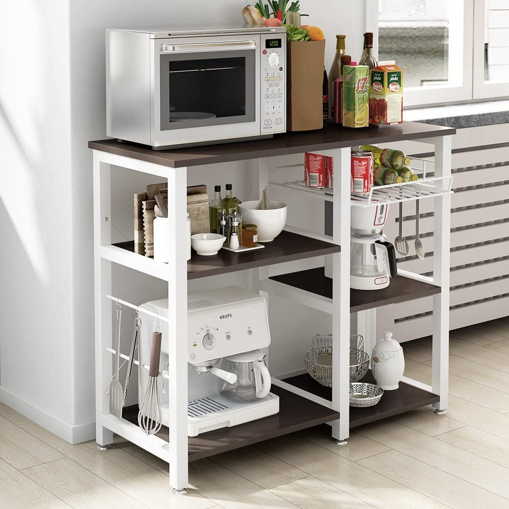 Soges 3-Tier Kitchen Workstation Cart