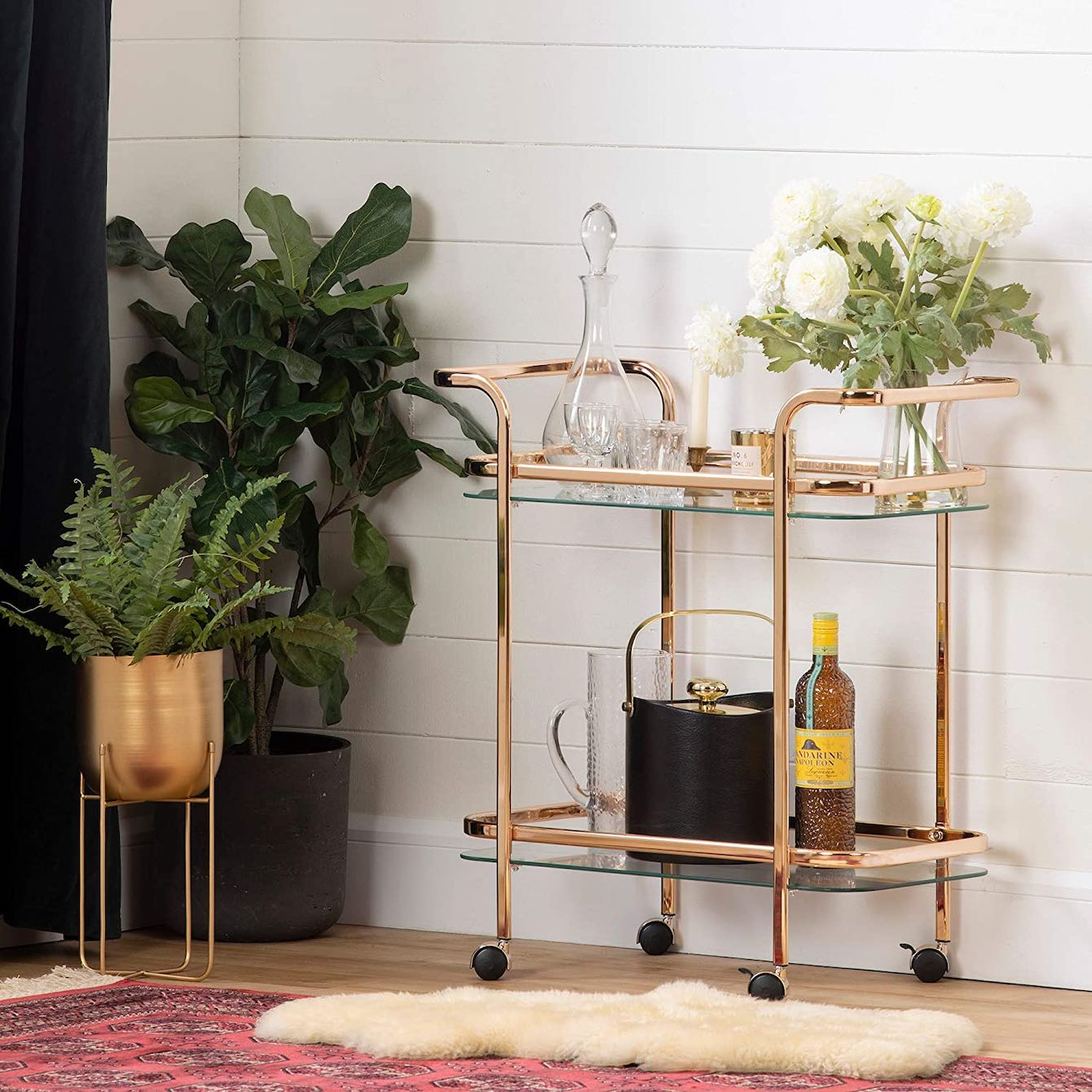 South Shore Maliza Bar Cart
