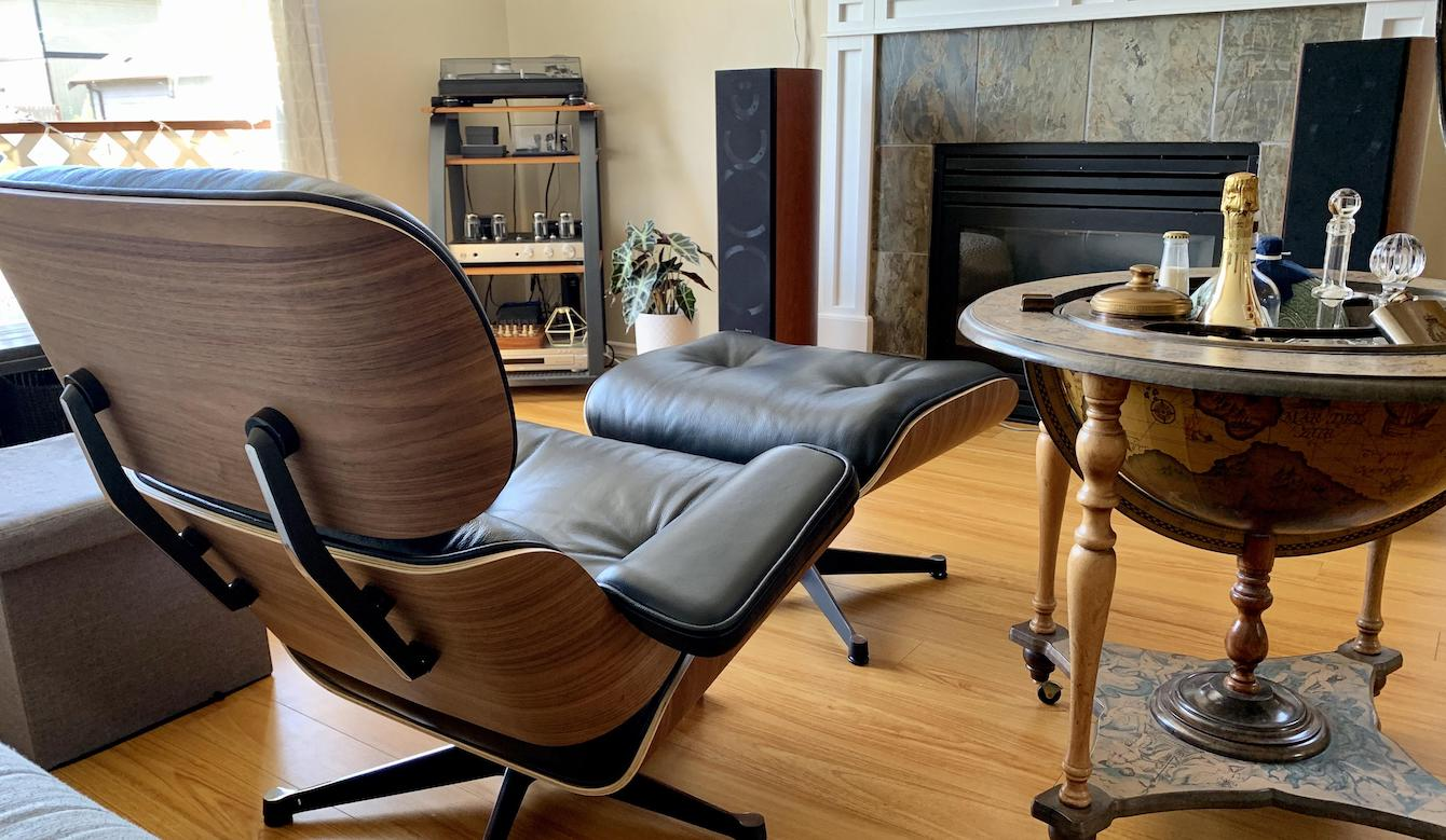 Eames Chair Listening Room