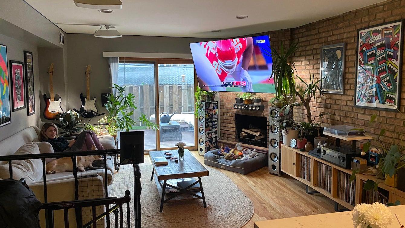 Television and Vinyl Listening Room