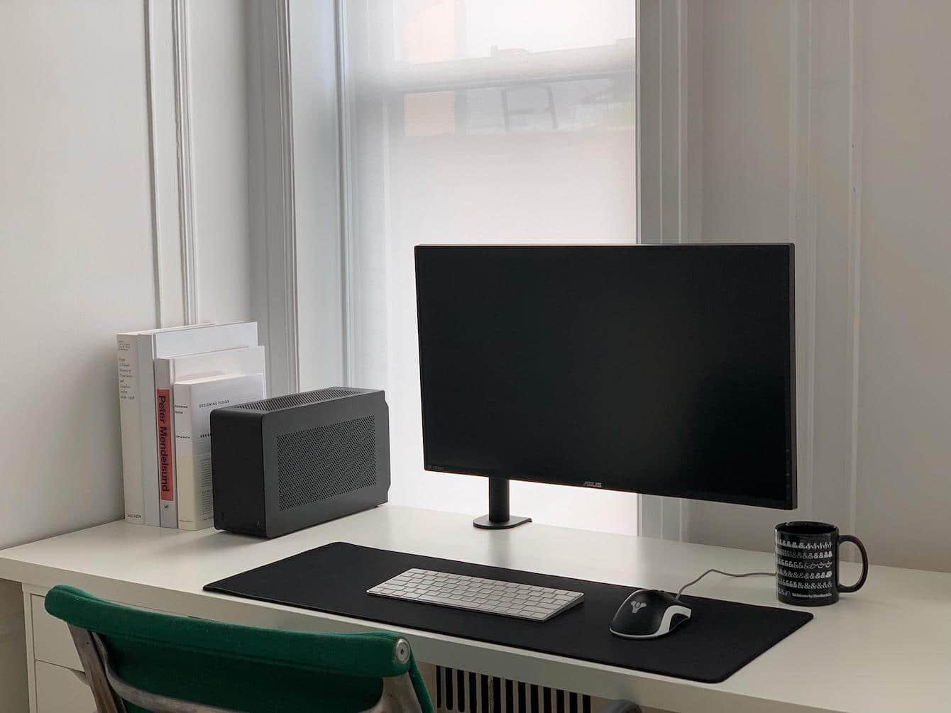 Ultra-Minimalist Desk