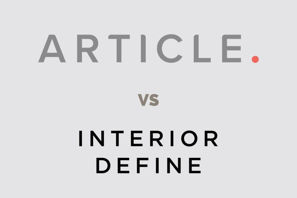 Article vs Interior Define - Featured Image